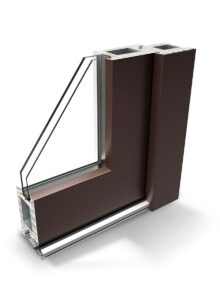 Infissi Korus in PVC e Alluminio
